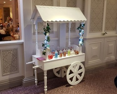 Candy Cart / Sweet Cart - Available to hire fully stocked in Northern Ireland